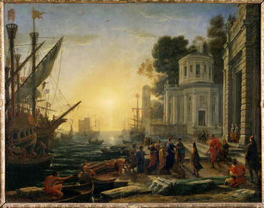 Cleopatra Disembarking at Tarsus