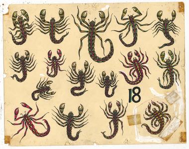 Untitled (Scorpions)