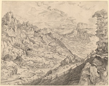 Large Alpine Landscape