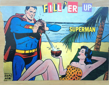 Filler Up Superman!