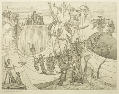 Biblical Landscape with Scouts