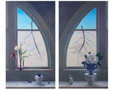 Fragile Spring (Diptych)