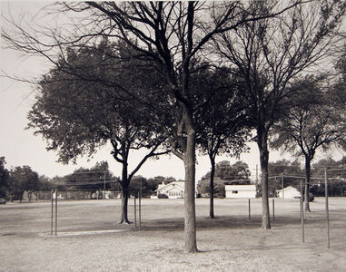 Playground of Crockett Elementary School, where I attended grades 1-7