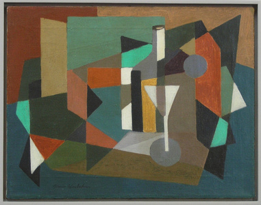 Abstraction with Martini Glass c. 1945