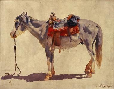 Navajo Pony (Study No. 2)
