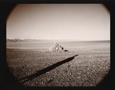 Tibetan Shadow, Lake Namtso, Tibet