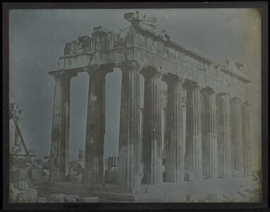 Facade and North Colonnade of the Parthenon on the Acropolis, Athens