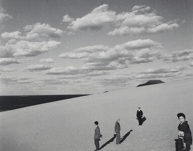 My wife in the dunes (III)