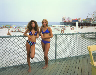 Two Girls, Seaside Heights, New Jersey