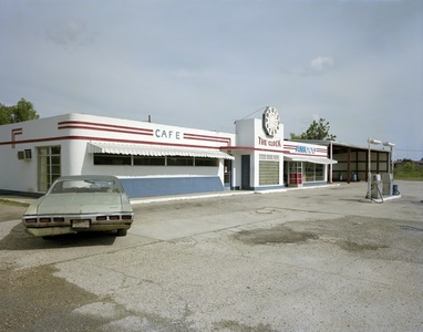 Clock Truck Stop, US 11, Picayune, Mississippi