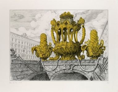 Design for a cake basket and two muffineers en-suite I