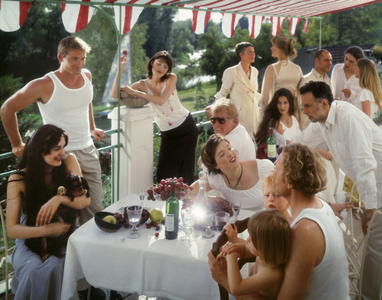 "After ""Luncheon of the Boating Party"" by Renoir"