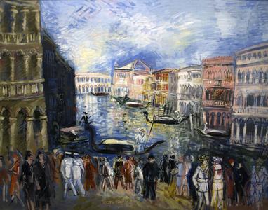 Venise, Le Grande Canal