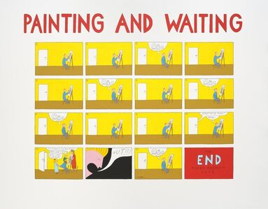 Painting and Waiting