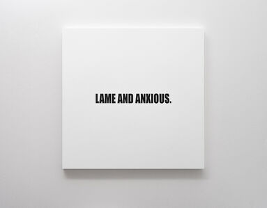 Lame and Anxious.