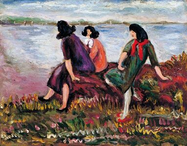 Three Beauties by the Sea