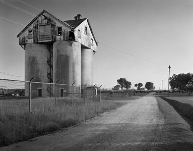 Farm Silos, Cherry State Hospital, Goldsboro, NC
