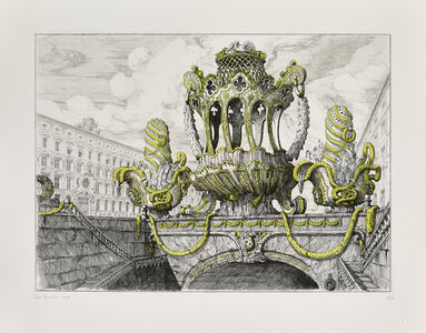 Design for a cake basket and two muffineers en-suite II