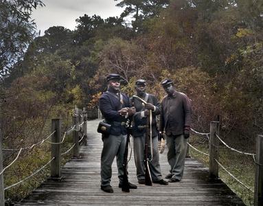 Charleston: 54th Massachussetts at Boone Hall Plantation