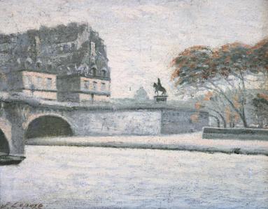 Winter On Seine