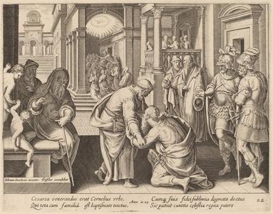 Cornelius Worshipping Saint Peter