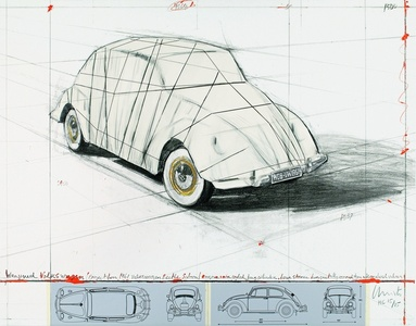 Wrapped Volkswagen, Project for 1961 Volkswagen Beetle Saloon