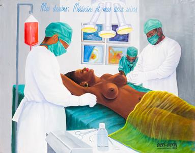 Mes seins : médecins et mes deux seins