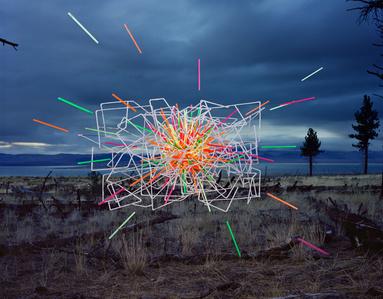 Straws no. 4, Mono Lake, California