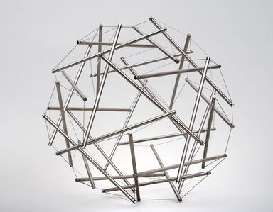 Thirty Strut Tensegrity Sphere