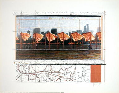 The Gates Project, X, New York (signed)
