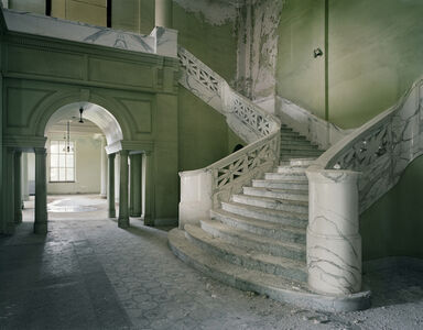 Lobby of Mead Building, Yankton State Hospital, Yankton, SD