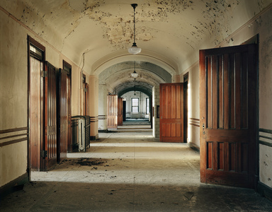 Typical Ward, Kankakee State Hospital,  Kankakee, Illinois