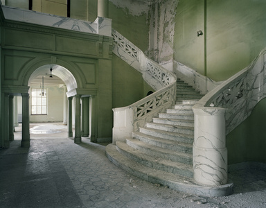 Lobby of Mead Building, Yankton State  Hospital, South Dakota