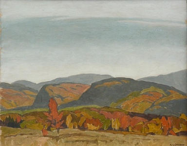 Autumn Hills - Near Dwight (Barking Dog Hill)
