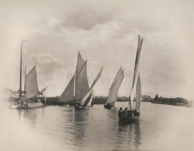 Sailing Match at Horning