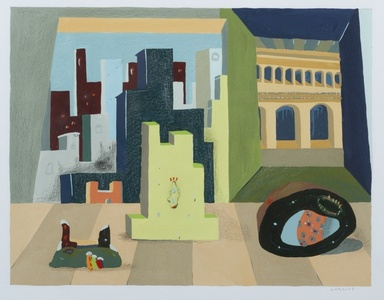 City Arrangement with Di Chirico