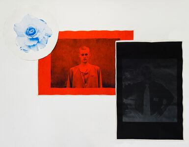 Untitled (Blue [Begonia, Kimjongilia], Red [Matthew Todd Miller, No. 107], Black [David Sneddon])