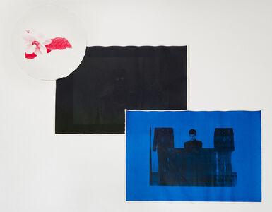Untitled (Red [Magnolia, National Flower], Black [Matthew Todd Miller, No. 107], Blue [Matthew Todd Miller, The New York Times])