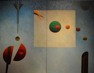 Arrival to the Unknown Diptych