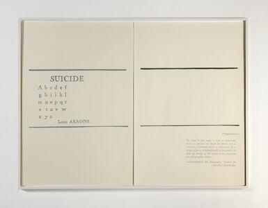 Suicide / Fragementation