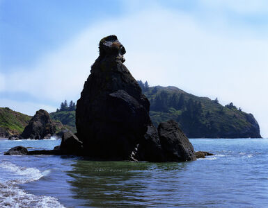 Grandmother Rock, Pacific Coast