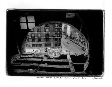 Gordon Matta-Clark, 9th Paris Biennale, Paris, October, 1975