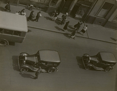 Street Traffic, Moscow