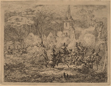 Capture of a Village (Prise d'un village)