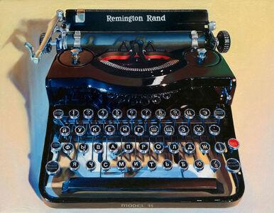 Russian Typewriter Model #45