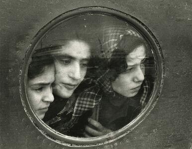 Jewish Teenage Refugees from Iraq -Landing at Lydda Airport, Tel Aviv, Israel