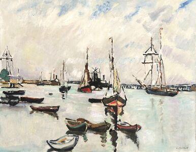 Dans le port de Ouistreham
