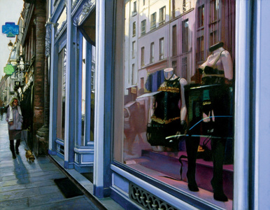 Chantal Thomass, Rue St., Honore, Morning