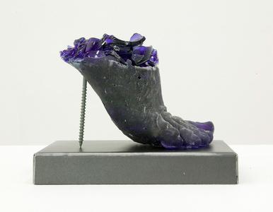 Footwear (Blue Heel)