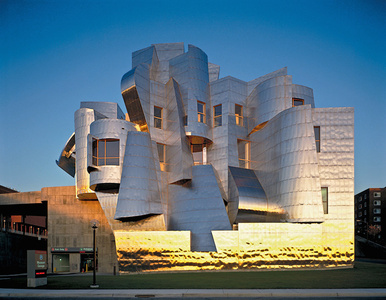 Frederick R. Weisman Art and Teaching Museum, View of the West Elevation, Minneapolis, Minnesota